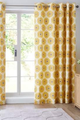 Next Retro Daisy Eyelet Curtains