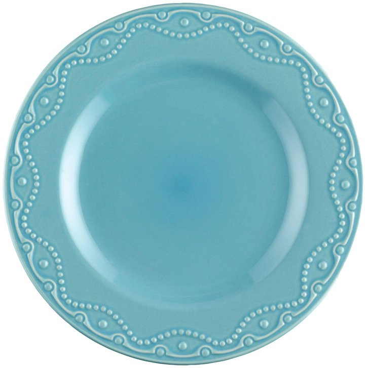 Paula Deen Signature Whitaker Dinner Plate Set, 4-pc, Aqua
