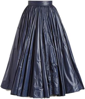 Calvin Klein Extra-light flared midi skirt