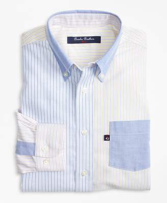 Brooks Brothers Boys Non-Iron Supima Cotton Oxford Fun Shirt