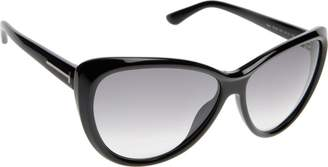 276006ab37ac Tom Ford Malin FT0230 Sunglasses-01B Black (Dark Gray Gradient Lens)-61mm