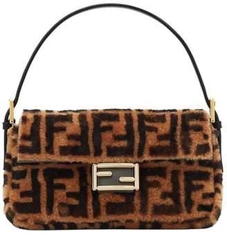 Fendi printed Baguette handbag