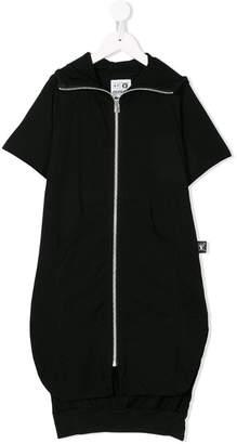 Nununu long zipped cardi-jacket