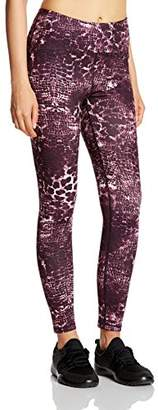 7Goals Women's High-Waist Printed Workout Legging