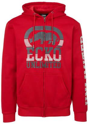 Ecko Unlimited Unltd Men Big Hit Full Zip Hoodie