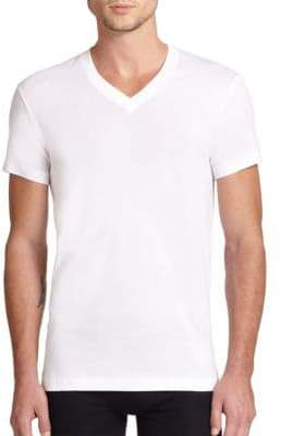 2xist Pima Cotton V-Neck Tee