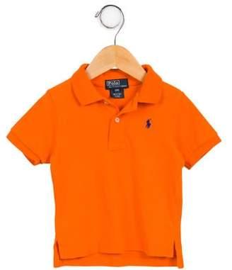 Ralph Lauren Boys' Logo Polo Shirt