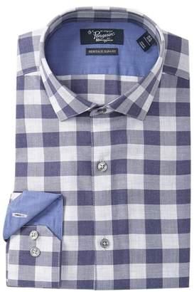 Original Penguin Heritage Slim Fit Checkered Dress Shirt