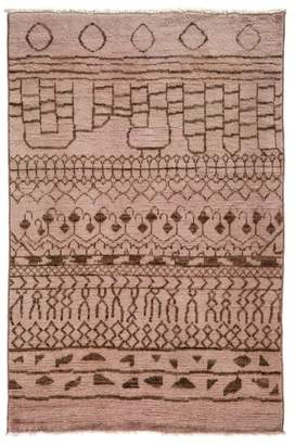 """Solo Rugs Vibrance Collection Oriental Rug, 4'1"""" x 6'3"""""""
