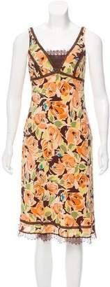 Nicole Miller Silk Sleeveless Dress