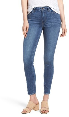 Women's Paige Hoxton High Waist Ankle Skinny Jeans $199 thestylecure.com