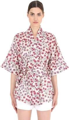 Liberty Cotton Poplin Kimono Jacket