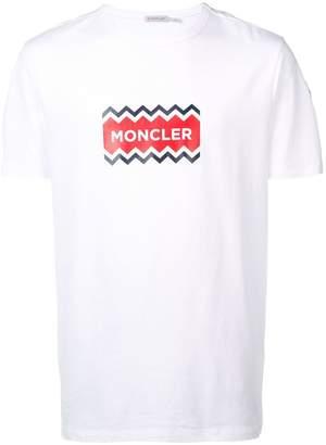 Moncler print T-shirt