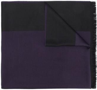 Emporio Armani two-tone scarf