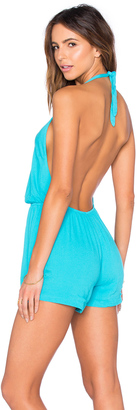 LSPACE Indian Summer Romper $125 thestylecure.com