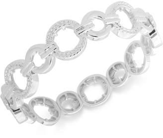 Nine West Textured Link Stretch Bracelet