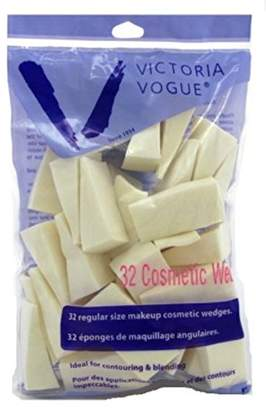 Victoria Vogue Cosmetic Wedges Synthetic Latex 32 Count Regular