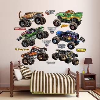 Fathead Monster Jam Trucks Collection Wall Decals