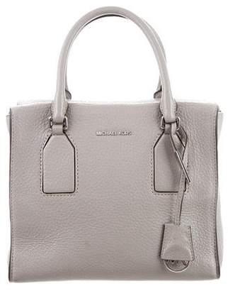 MICHAEL Michael Kors Grained Leather Satchel Bag