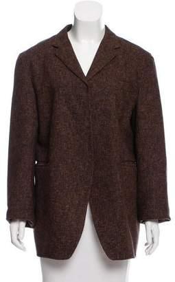 Marni Woven Wool-Blend Blazer