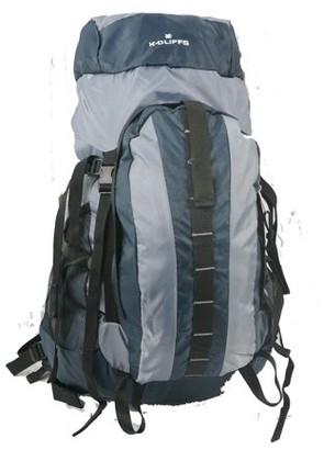K-Cliffs K Cliffs Hiking Backpack Scout Camping Backpack Large Internal Frame Daypack Travel Pack Bag Navy