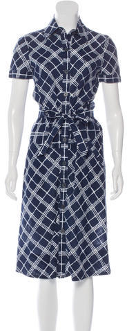 Burberry Burberry London Printed Shirt Dress
