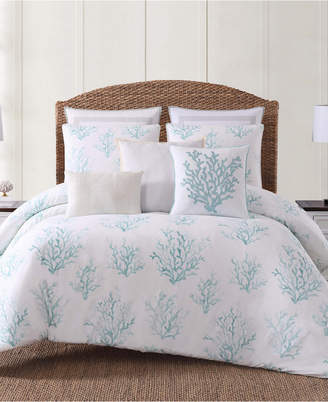 Pem America Oceanfront Resort Cove Seafoam Printed 2 Piece Twin/Twin XL Comforter Set