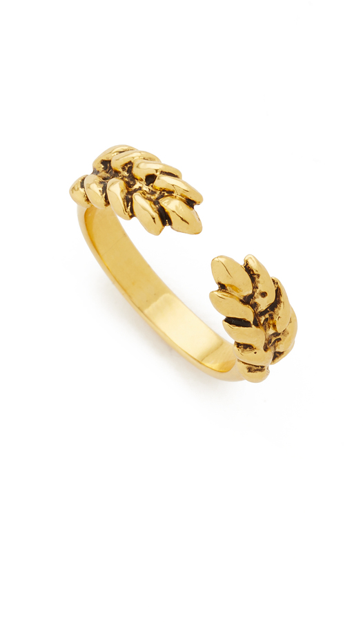 Aurelie Bidermann Wheat Cobs Ring
