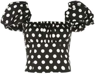 Petersyn Monica dotted top