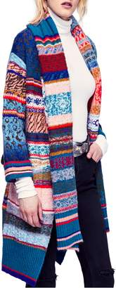 Free People Fantasia Fair Isle Cardigan