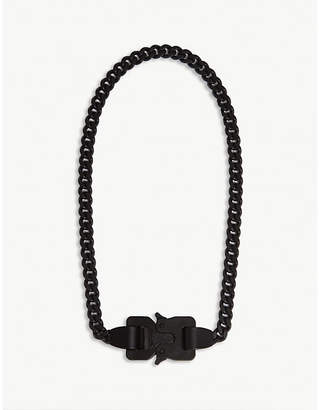 Alyx Rollercoaster buckle chain necklace