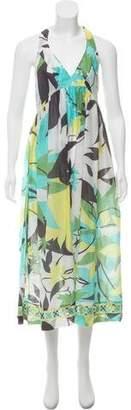Emilio Pucci Halter Printed Dress