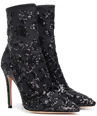 Gianvito Rossi Daze sequined ankle boots