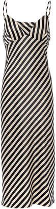 Shona Joy Duke Striped Slip Midi Dress