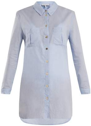 Heidi Klein St Barths herringbone cotton shirt