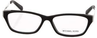 Michael Kors Rubber Square Eyeglasses