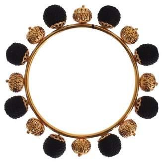 Dolce & Gabbana Black Metal Bracelets