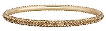 Cezanne Pave Crystal Bangle Bracelet