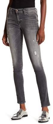 Diesel Skinzee Distressed Skinny Jeans