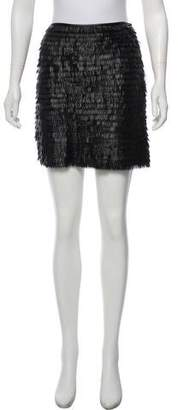 Max Studio Embellished Mini Skirt