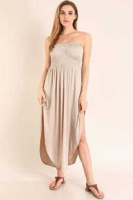 Tracie's Strapless Maxi Dress