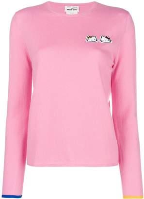 5c687f2e2 Hello Kitty Chinti & Parker cashmere patch sweater
