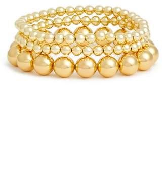 Gorjana Newport Set of 3 Bead Bracelets
