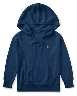 Polo Ralph Lauren Jersey Hooded Sweater(2-7 Years)