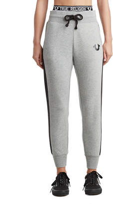 True Religion WOMENS STRIPED LOGO JOGGER
