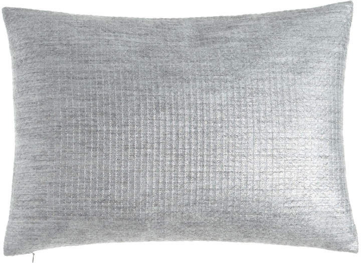 Sferra Metallic Mohair-Blend Pillow, 16