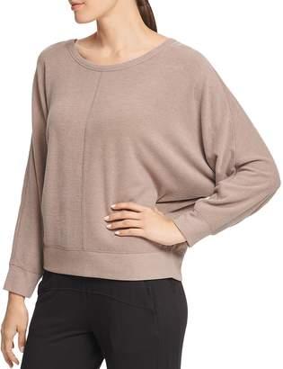 Donna Karan Relaxed Dolman-Sleeve Sweatshirt