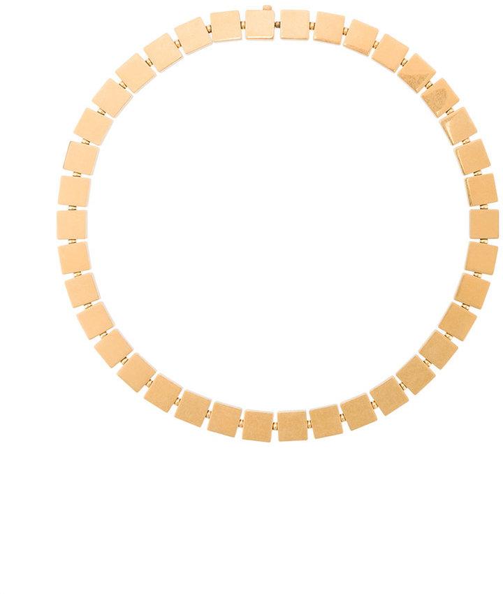 CelineCéline 3D cube necklace