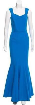 Roland Mouret Sleeveless Bodycon Evening Dress