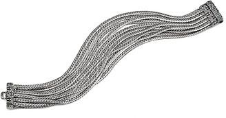 Stephen Dweck Silver Swiss Blue Topaz Bracelet